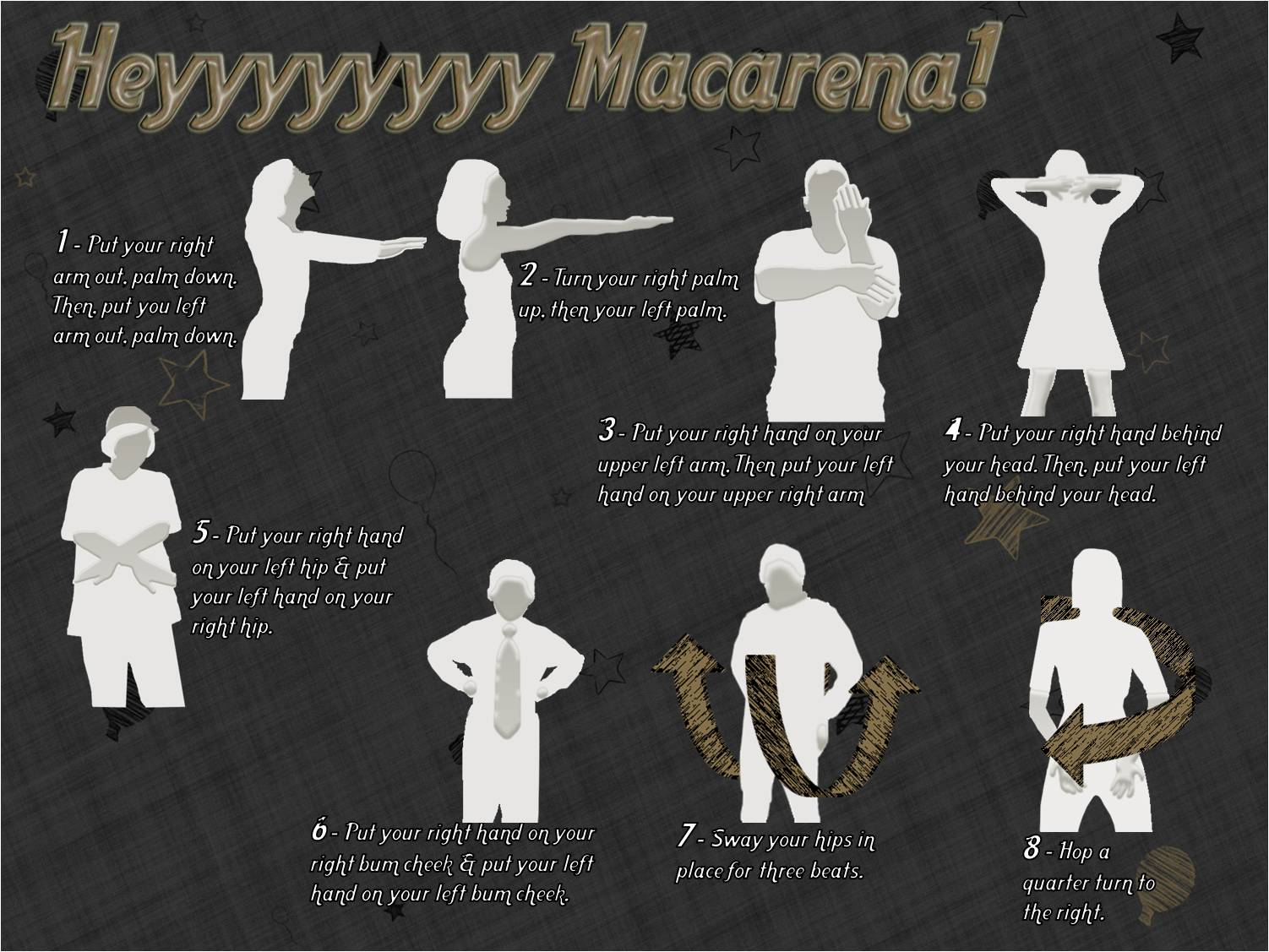 Hey Macarena Dance