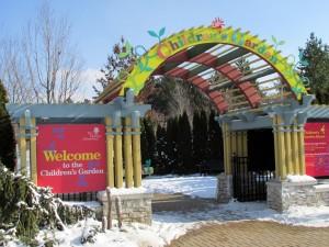 Entrance, Children's Garden, Morton Arboretum