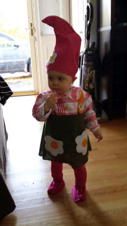 baby josie gnome
